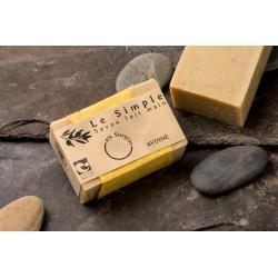 Savon solide bio à l'avoine - savon artisanal bio