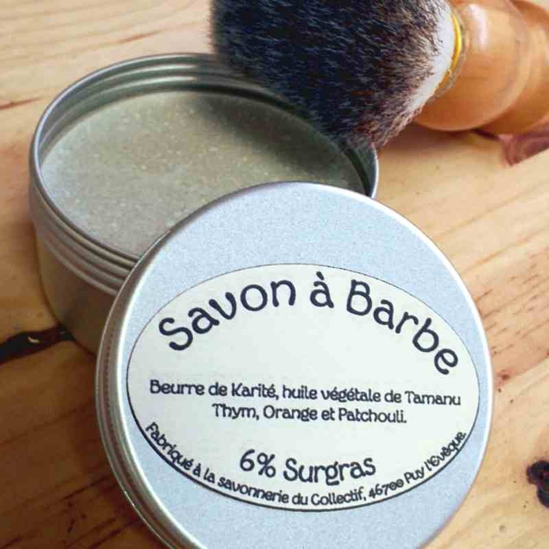 savon à barbe bio