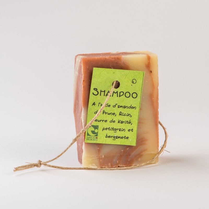 shampoing solide bio prune